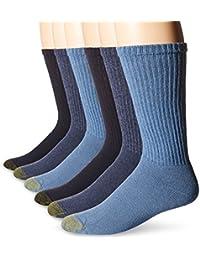 Men's Cotton Crew Athletic Sock, 6-Pack