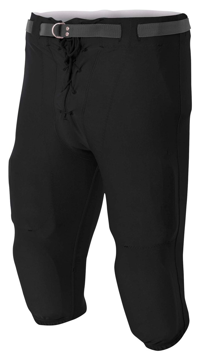 A4 NB6141-BLK Game Pants, X-Small, Black