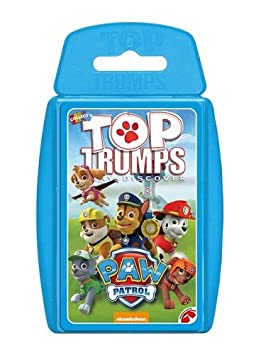 Amazon.com: parte superior Trumps – Paw Patrol: Toys & Games