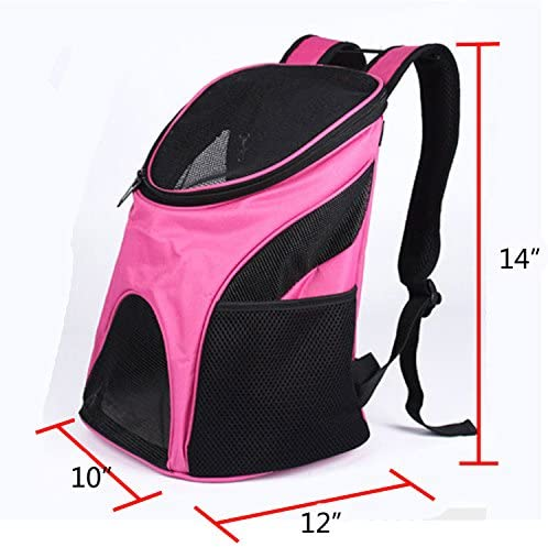 S-Lifeeling Breathe Freely Pet Bag Outdoor Portable Cat Dog Carrier Practical Backpack Pet Crate
