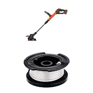 Amazon.com : BLACK+DECKER LSTE523 20V MAX Lithium POWERCOMMAND Easy Feed String Trimmer/Edger and 30-ft spool : Garden & Outdoor