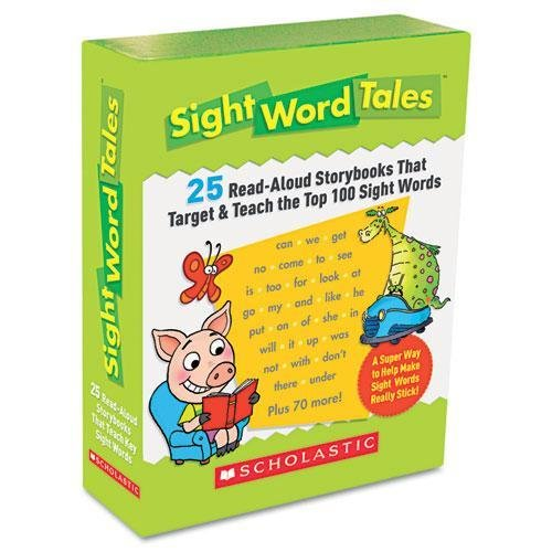 SCHOLASTIC 545016428 Sight Word Tales, 25 Books/16 Pages and Teachers Guide