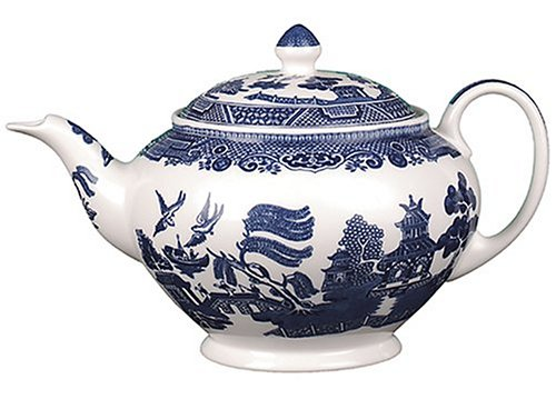 Old Willow Pattern Teapot Willow Pattern