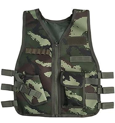 Hamaliel Kids Army Camouflage Outdoor Combat Vest