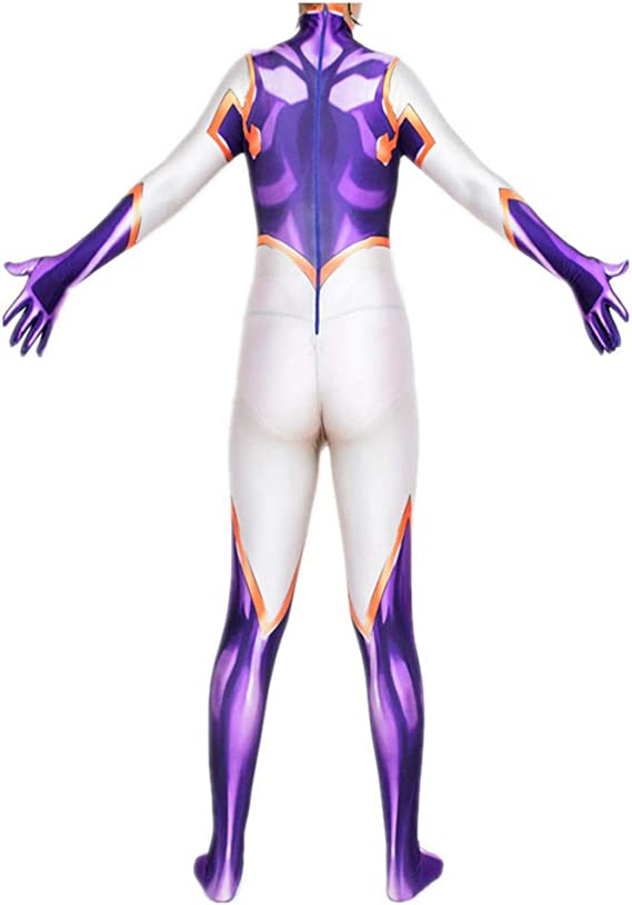 Ajedacos Anime Mt Lady Cosplay Costume Jumpsuit Women Zentai Suit