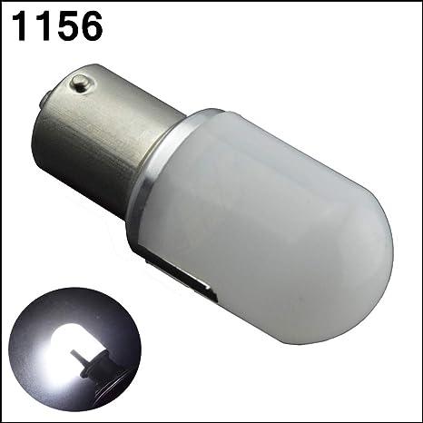 Ruiandsion 1156 - Bombillas LED de luz intermitente (6000 K, 12 a 24 V