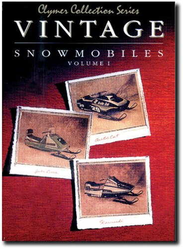 CLYMER Vintage Snowmobile Manual - Arctic Cat/John Deere/Kawasaki