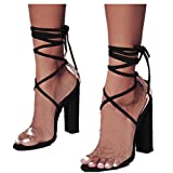 Women Pumps Sexy Transparent Heels Women Sandals Comfort Square Women