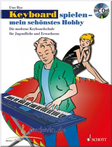 Clavier jouer - Mon schönstes Hobby - Keyboard Partitions pour ...