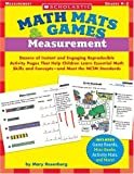 Math Mats and Games Measurement, Mary Rosenberg, 0439518806