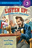 img - for Listen Up!: Alexander Graham Bell's Talking Machine (Step into Reading) book / textbook / text book