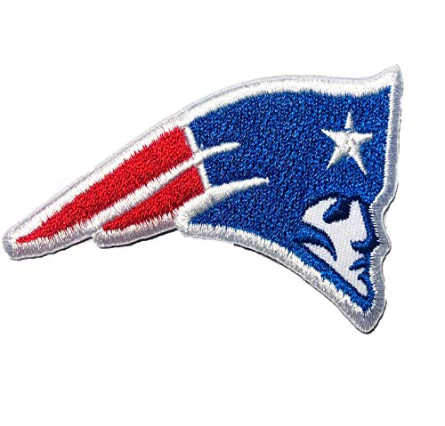 New England Patriots Embroidered NFL Patch Size 3.37