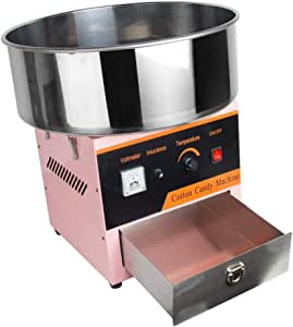 CPAZT Algodón de azúcar eléctrica Cafetera, Máquina de algodón de ...
