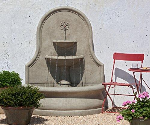 Campania International FT-155-GS Estancia Fountain, Grey Stone Finish