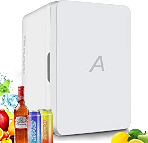 Mini Fridge 10 Liter,Portable Thermometric Cooler and Warmer for Skincare, Cosmetics, Foods, Medications, Home, office, and Travel