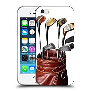 Super Galaxy Coque de Protection TPU Silicone Case pour // V00002592 Palos de golf de la vendimia // Apple iPhone 5 5S 5G SE