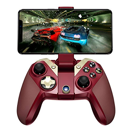 GameSir M2 for Mobile Phone Game Controller Wireless iOS Gamepad Controller Compatible with iPhone iPod iPad Mac Apple TV, Red ()