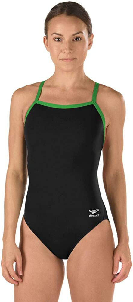 Flyback Solid Adult Team Colors Speedo Womens Swimsuit One Piece Endurance