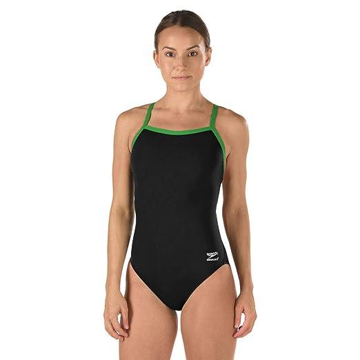 b147bf51b1c Speedo Women s Race Endurance+ Polyester Flyback Training Swimsuit