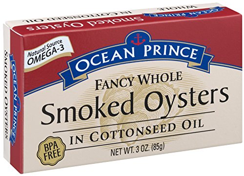 Prince Smoked Oysters Cottonseed 3 Ounce product image