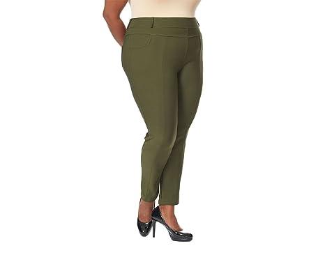 ab48ee6d2b6 Women s Plus Size Jean Like Leggings Jeggings at Amazon Women s ...