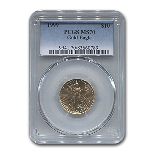 1999 1/4 oz Gold American Eagle MS-70 PCGS Gold MS-70 PCGS