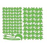 Futemo Kids 103Pcs Star Moon Star Wall Stickers Star Moon Luminous Wall Stickers Glow in The Dark Room Decor