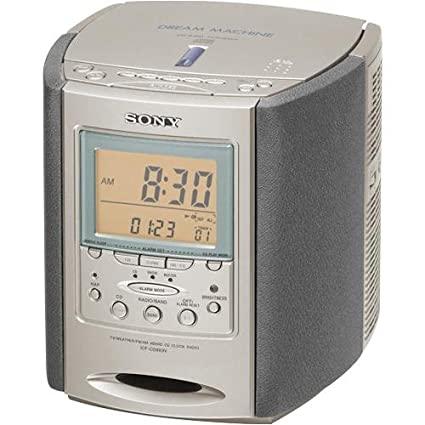 amazon com sony icf cd863v am fm tv weather clock radio cd player rh amazon com