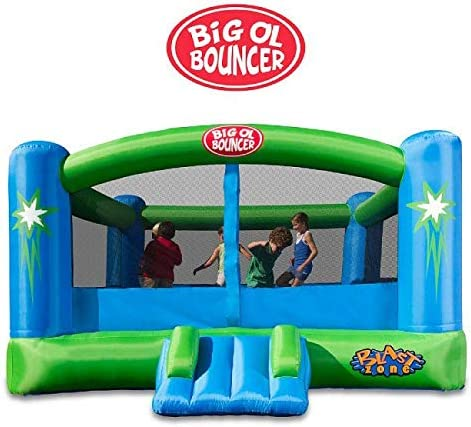 Blast-Zone-Big-Ol-Bouncer-Inflatable-Bounce-House-with-Blower