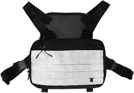 EFINNY Unisex Fashion Chest Front Bag Casual Chest Pack Chest Rig Bag para Senderismo al Aire Libre Juegos de Camping y equitación Front Pack Chest Rig Crossbody Bag: Amazon.es: Deportes y aire