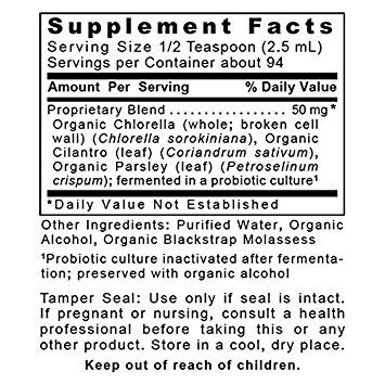 Premier Detox-ND 32 Oz / 4 Bottles Fermented Organic Greens Detox Blend by Premier Quantum Research Labs
