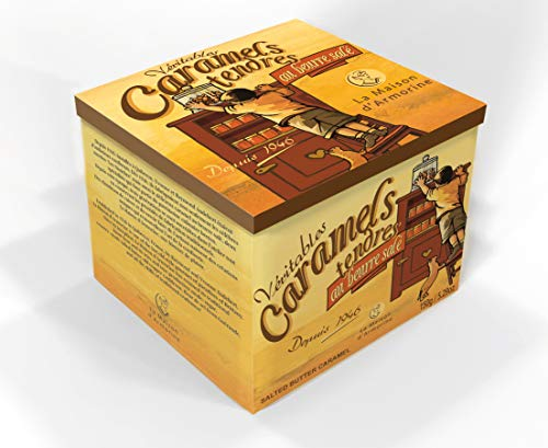 Salted Butter Caramel Gift Tin by La Maison d'Armorine (5.29 ounce)