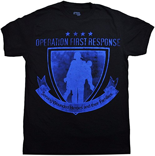 Ranger Up Operation First Response Wounded Warrior Charity T-Shirt (Large)