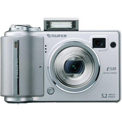 Fujifilm Finepix E510 5MP Digital Camera with 5.2x Optical Zoom