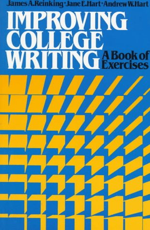Improving College Writing: A Book of Exercises