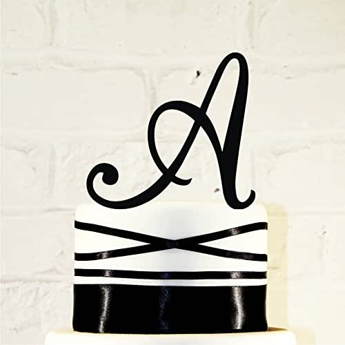 acrylic wedding cake toppers monogram 5 inch monogram acrylic wedding cake topper 10538