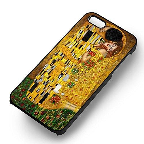 The Kiss Painting Art pour Coque Iphone 6 et Coque Iphone 6s Case (Noir Boîtier en plastique dur) E5U6NH
