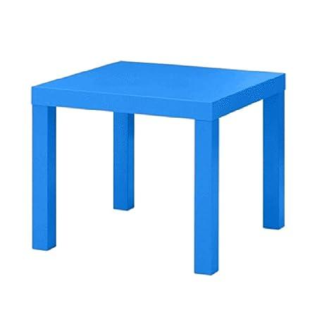 Jin Mesa de Trabajo de Dormitorio, Escritorio de Aprendizaje Simple - Mesa de Comedor - Mesa de Centro Multifuncional de jardín - Escritorio de decoración de balcón - xu (Color : Blue): Amazon.es: Hogar
