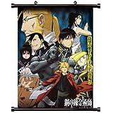 "Full Metal Alchemist Anime Fabric Wall Scroll Poster (16"" x 20"") Inches. [WP]-FullMetalAlch-552"