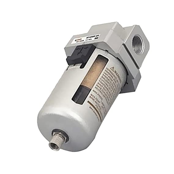 MagiDeal Filtro de Aire Particulado Compresor Agua Purificador de Trampa de Humedad Herramientas - Plata-Af4000-04 1/2 filtro: Amazon.es: Bricolaje y ...