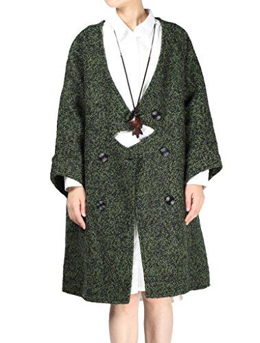 MatchLife - Abrigo - para mujer Verde