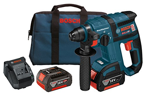 Bosch RHH181-01 18-Volt Lithium-Ion Brushless 3/4-Inch SDS-plus Rotary Hammer ()