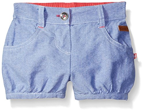 (Robeez  baby-girls Woven Shorts, Blue, 18)