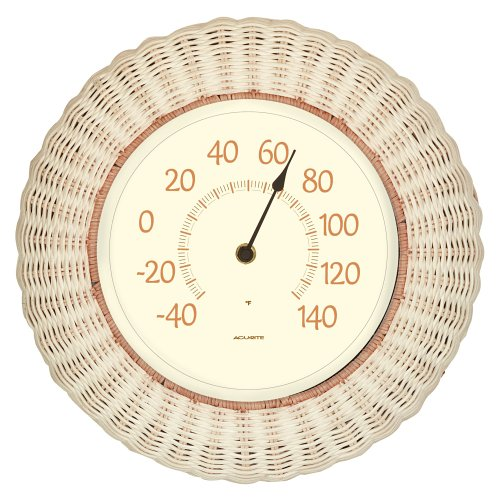 Chaney Instrument 14-Inch Wicker Thermometer