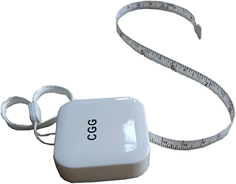 10 Tape Measure 150 Cm 60 Inch Push Button Body Measuring Soft Retractable For