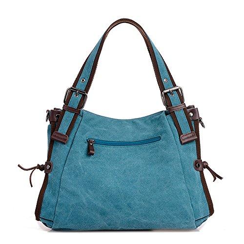 Ybriefbag Unisex Canvas Travel Bag, Shoulder Bag, Travel Bag, Leisure Canvas, Mummy Bag. Vacation by Ybriefbag (Image #1)