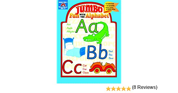 Jumbo Fun with the Alphabet: Evan Moor: 9781557996039: Amazon.com ...