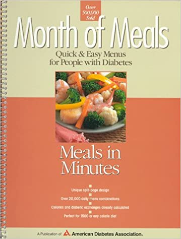 Image result for month of meals meals in minutes by american diabetes association