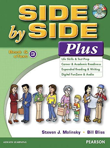 Side by Side Plus 3 Book & eText with CD