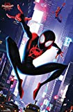Trends International Marvel Comics Movie Man: Enter The Spider-Verse-Street Wall Poster, 22.375' x 34', Multi
